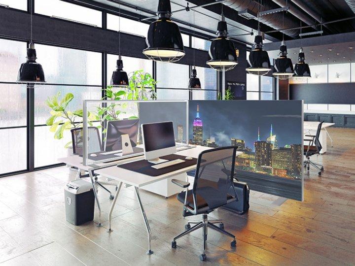Veilige scheidingswanden kantoor coronaproof